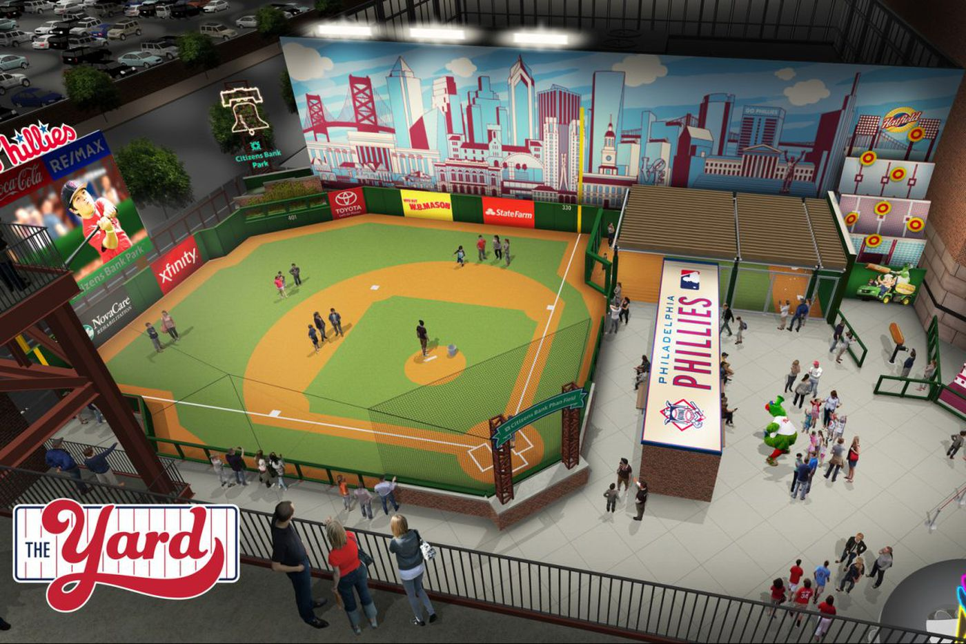 Inside Citizens Bank Park's new food, entertainment options this year