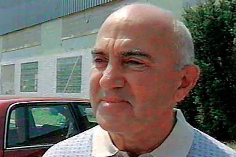 Philadelphia Mob Boss Ralph Natale  Still frame from FOX29 video