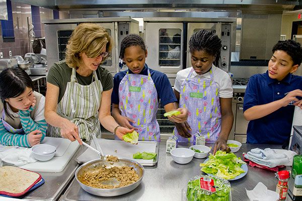 Wraps and salad calm chefs' jitters