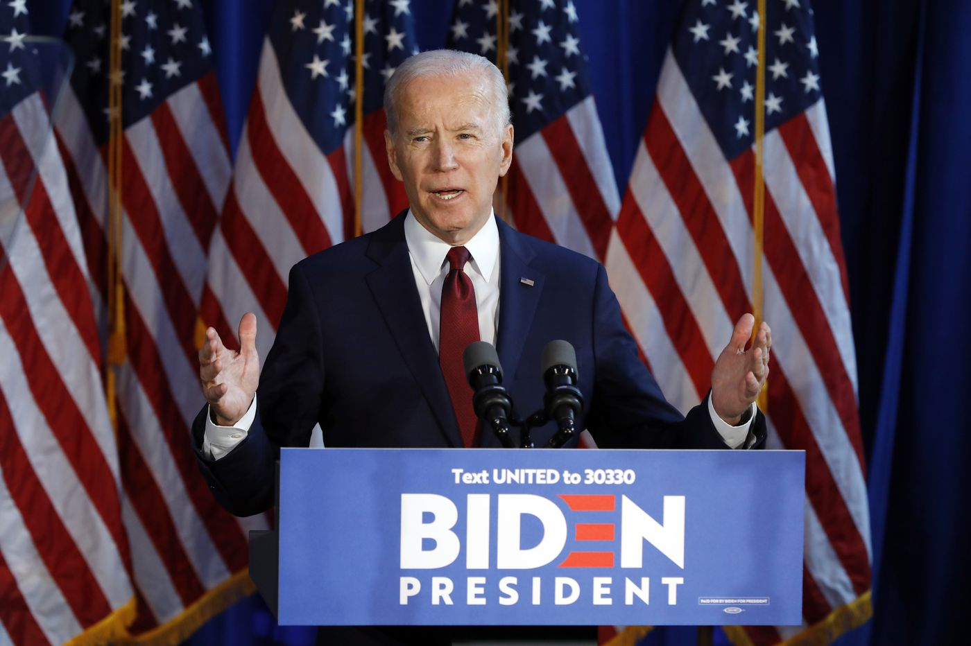 The 'chaos ensuing' in Iran is Trump's fault, Biden tells donors in Gladwyne