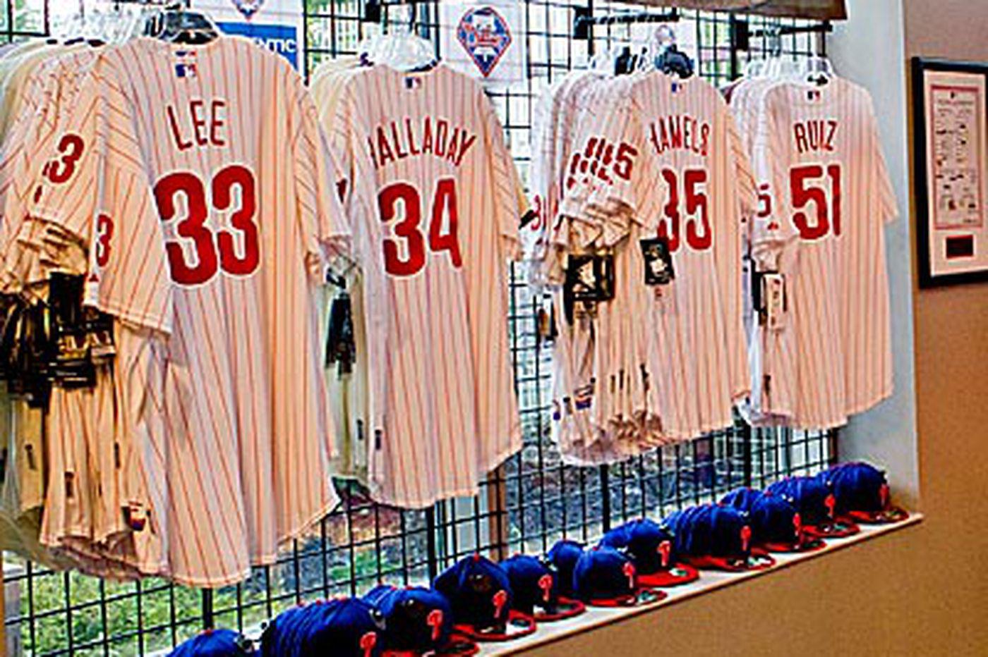 Phillies merchandise sales decline