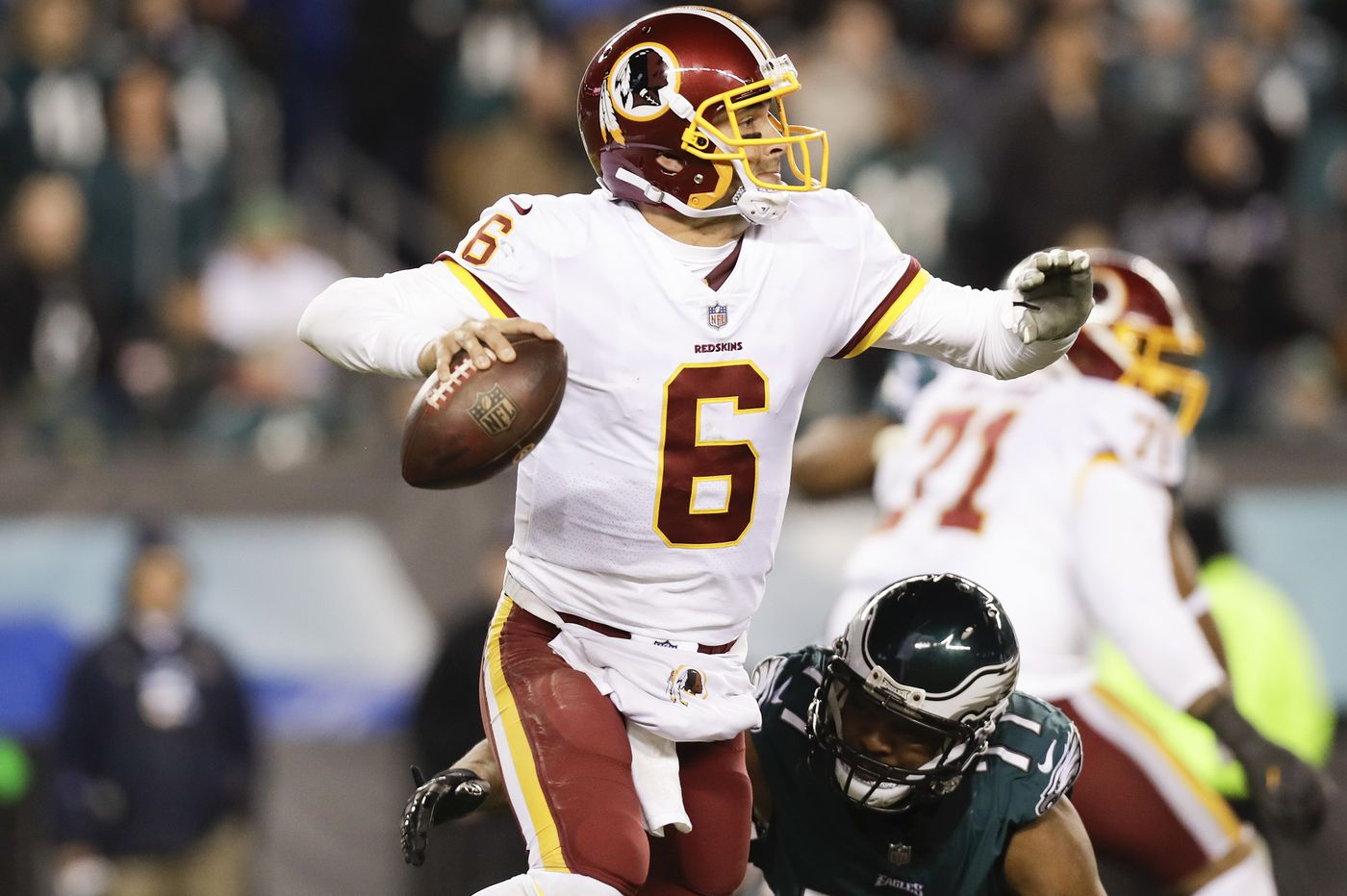 Finally, Mark Sanchez helps the Eagles win a big game | Mike Sielski