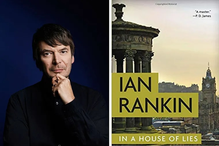 """Ian Rankin, author of """"In a House of Lies."""""""