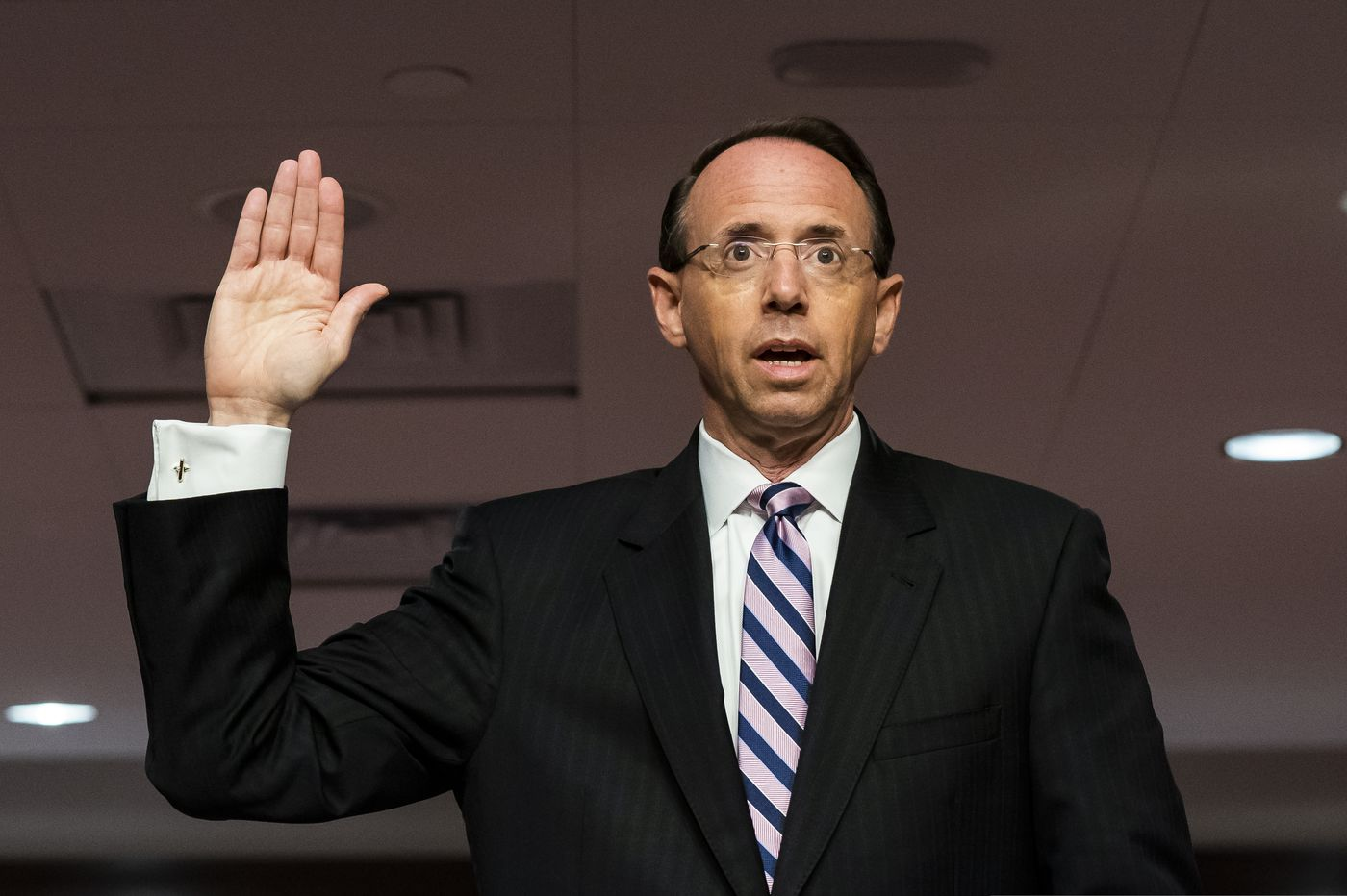Rod Rosenstein says he wouldn't approve Russia warrant now