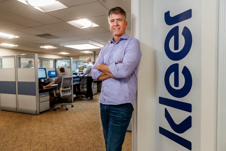 """Dave Monahan is founder and chief executive of Kleer LLC, a Wayne startup that  that offers a dental """"membership"""" program people who don't have dental insurance. About 1,000 dentists have signed up for the platform."""