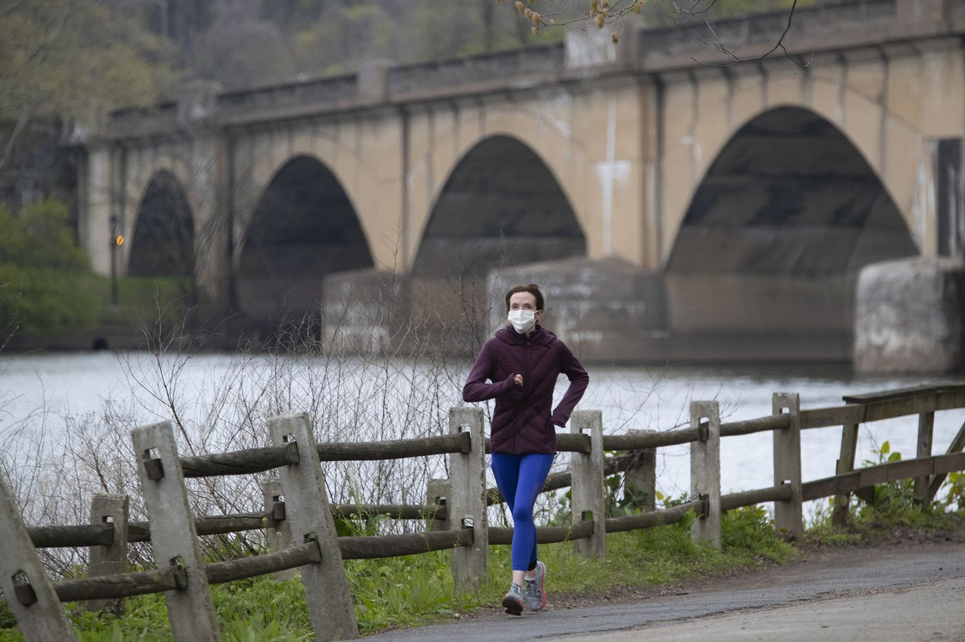 Should I wear a mask while running and exercising outside?