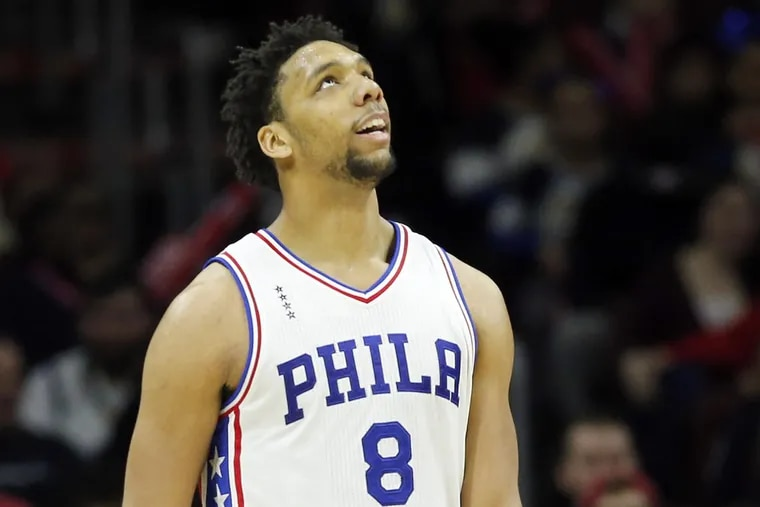 Sixers center Jahlil Okafor remains on the trading block.