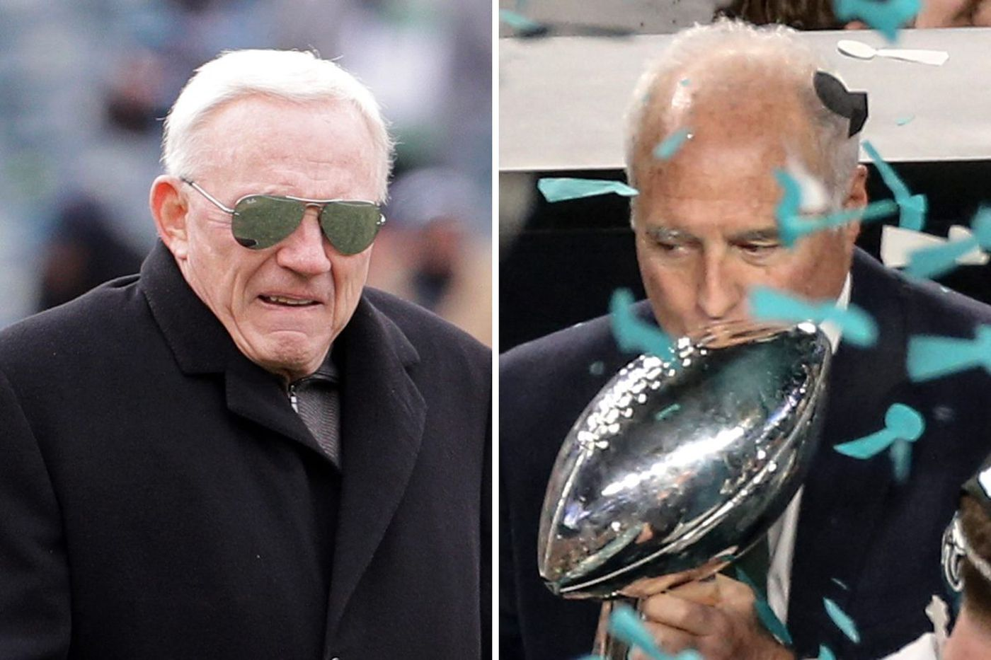 Jerry Jones is miserable about the Eagles' Super Bowl win