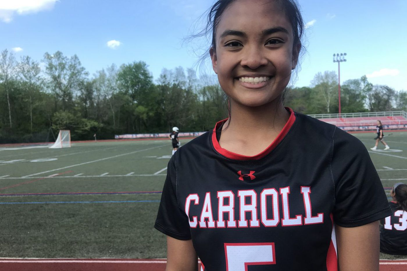 Alex Cabahug-Almonte engineers Archbishop Carroll girls lacrosse victory