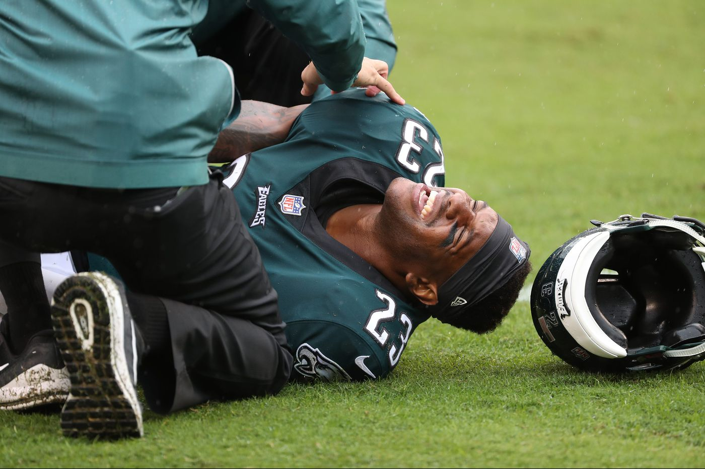 Rodney McLeod felt good after Eagles' win, pending tests; Dallas Goedert has his best game so far