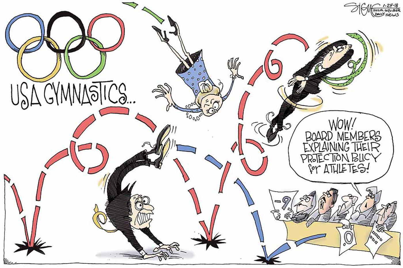 Daily Signe Cartoon 01/24/18