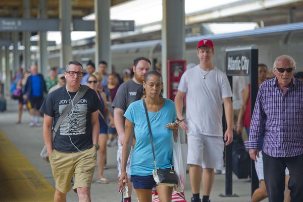 Atlantic City train shutdown feeds fears for the future