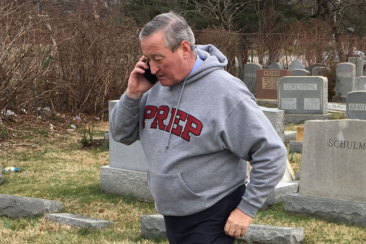 'Old-school' Philadelphia Mayor Jim Kenney deleted years' worth of cell phone text messages