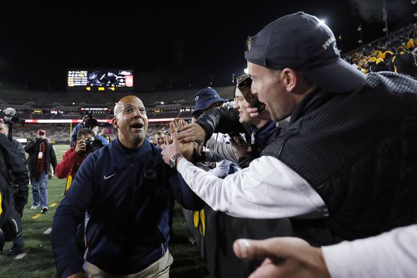 Penn State's James Franklin says his goal of being first African-American coach to win a national title is important to him