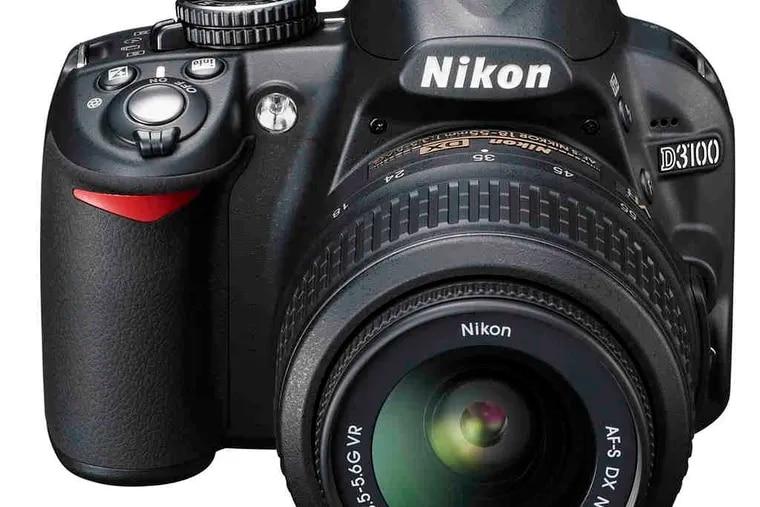 The Nikon D3100