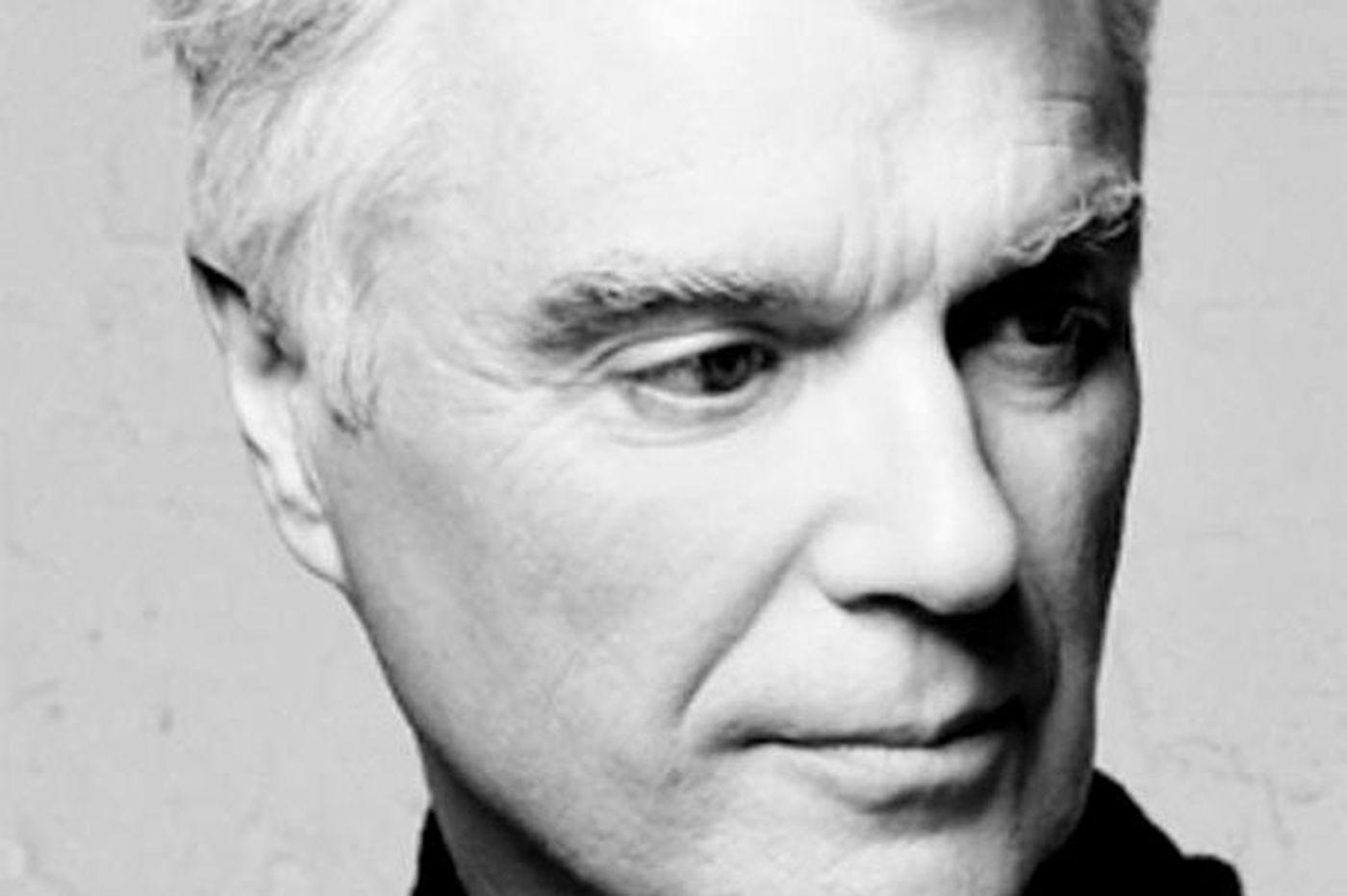 David Byrne, talking music