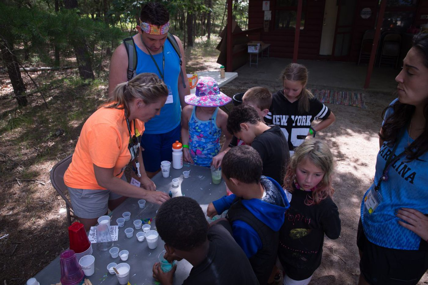 Camp with 'no worries' for young cancer patients and siblings