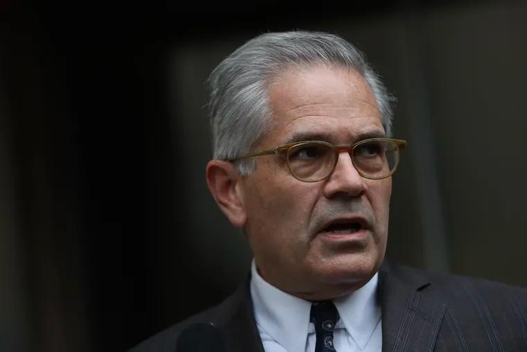 Philadelphia District Attorney Larry Krasner in October.