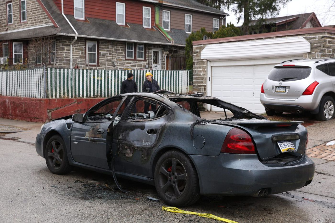 Man abducted, bound, set afire in car, Philadelphia police say