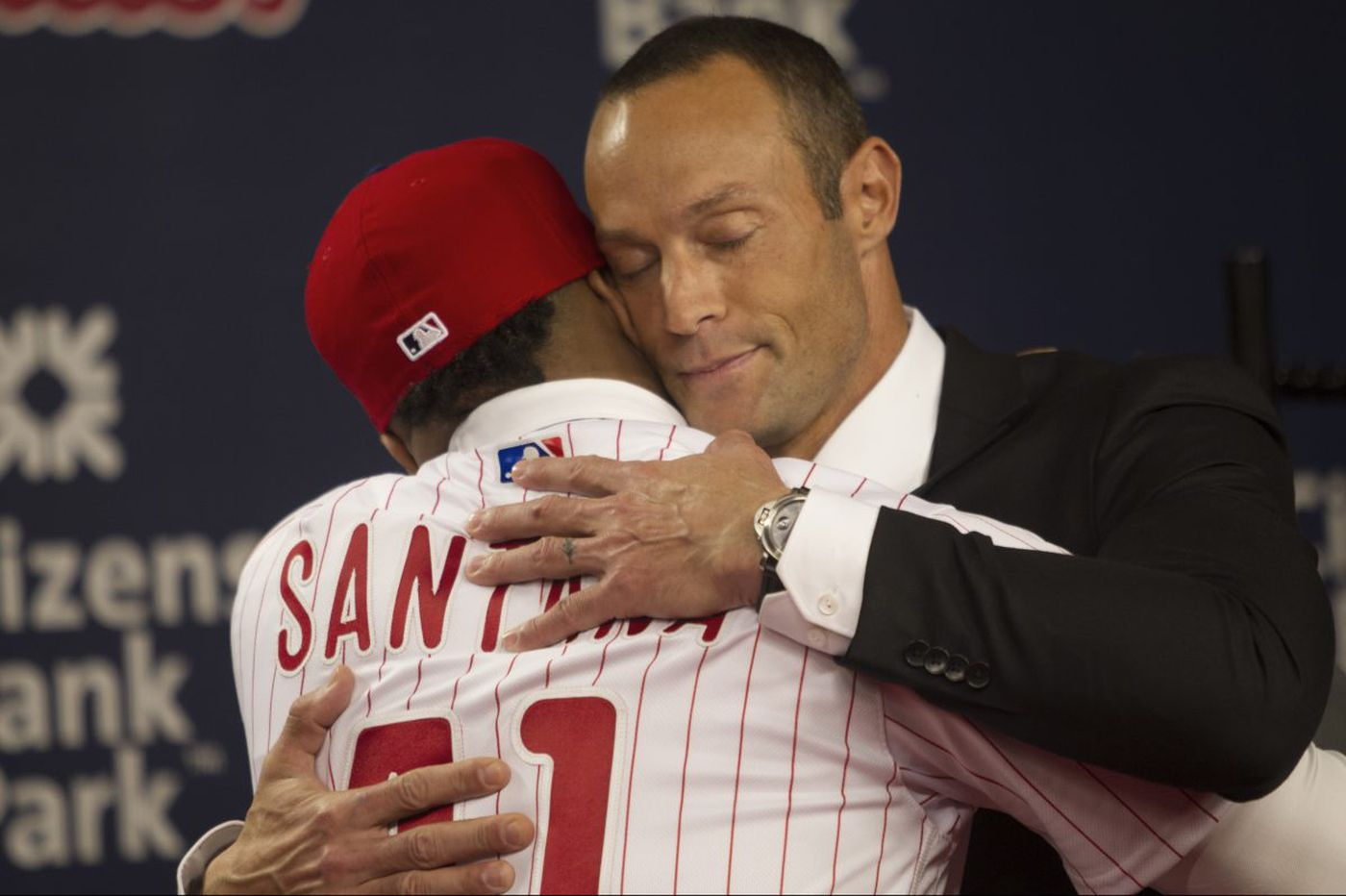 Gabe Kapler is positively full of energy | David Murphy