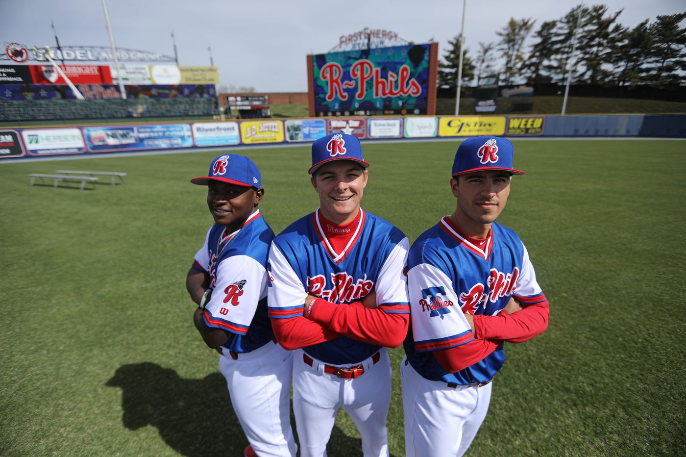 Phillies prospects Adam Haseley, Mickey Moniak and Cornelius Randolph hope to break out of slow start in Reading
