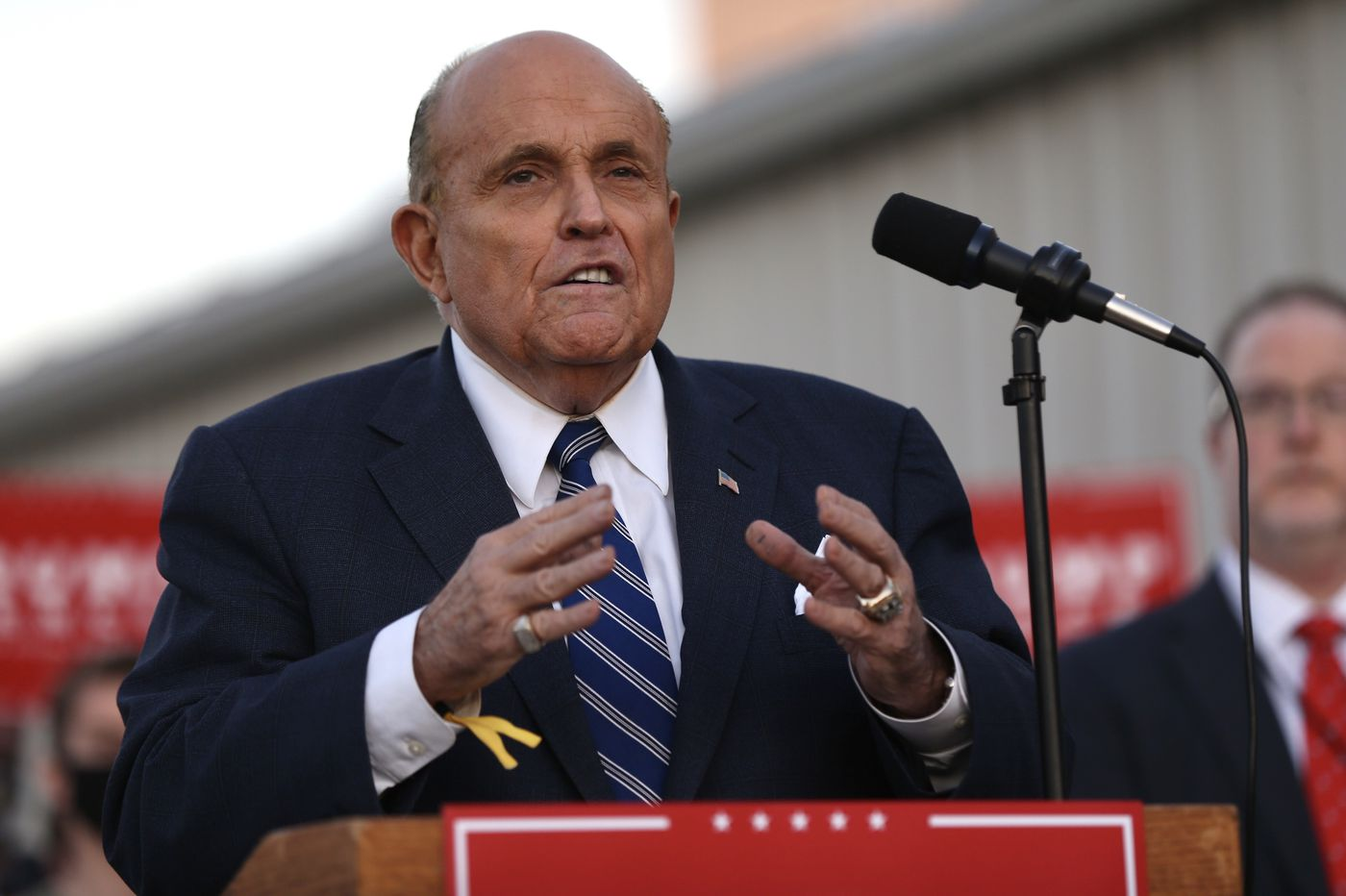 Rudy Giuliani and Trump's last-stand push to overturn Pa.'s election results get a frosty reception in court