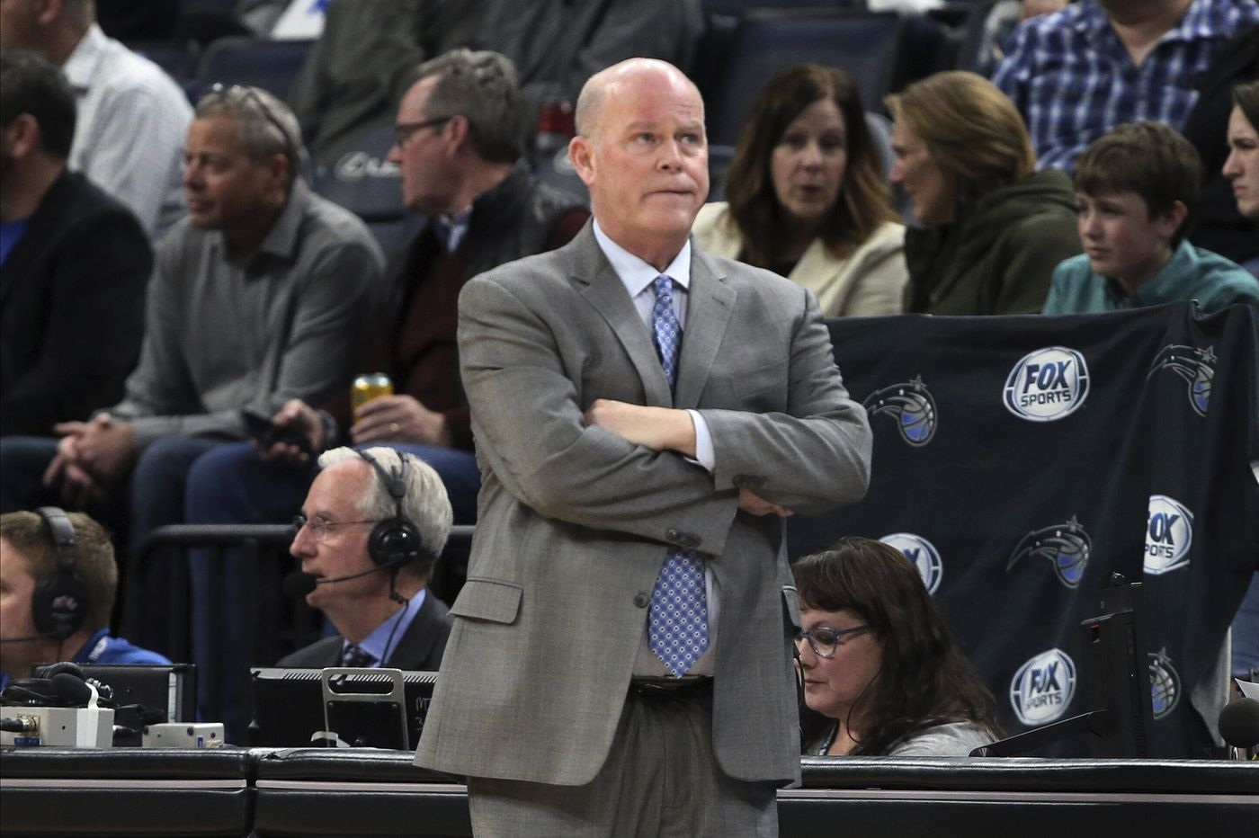 Magic coach Steve Clifford offers a lesson in racial justice before Sixers game