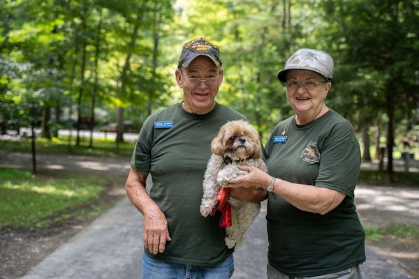 The retiree hosts who help keep Pennsylvania's state parks running