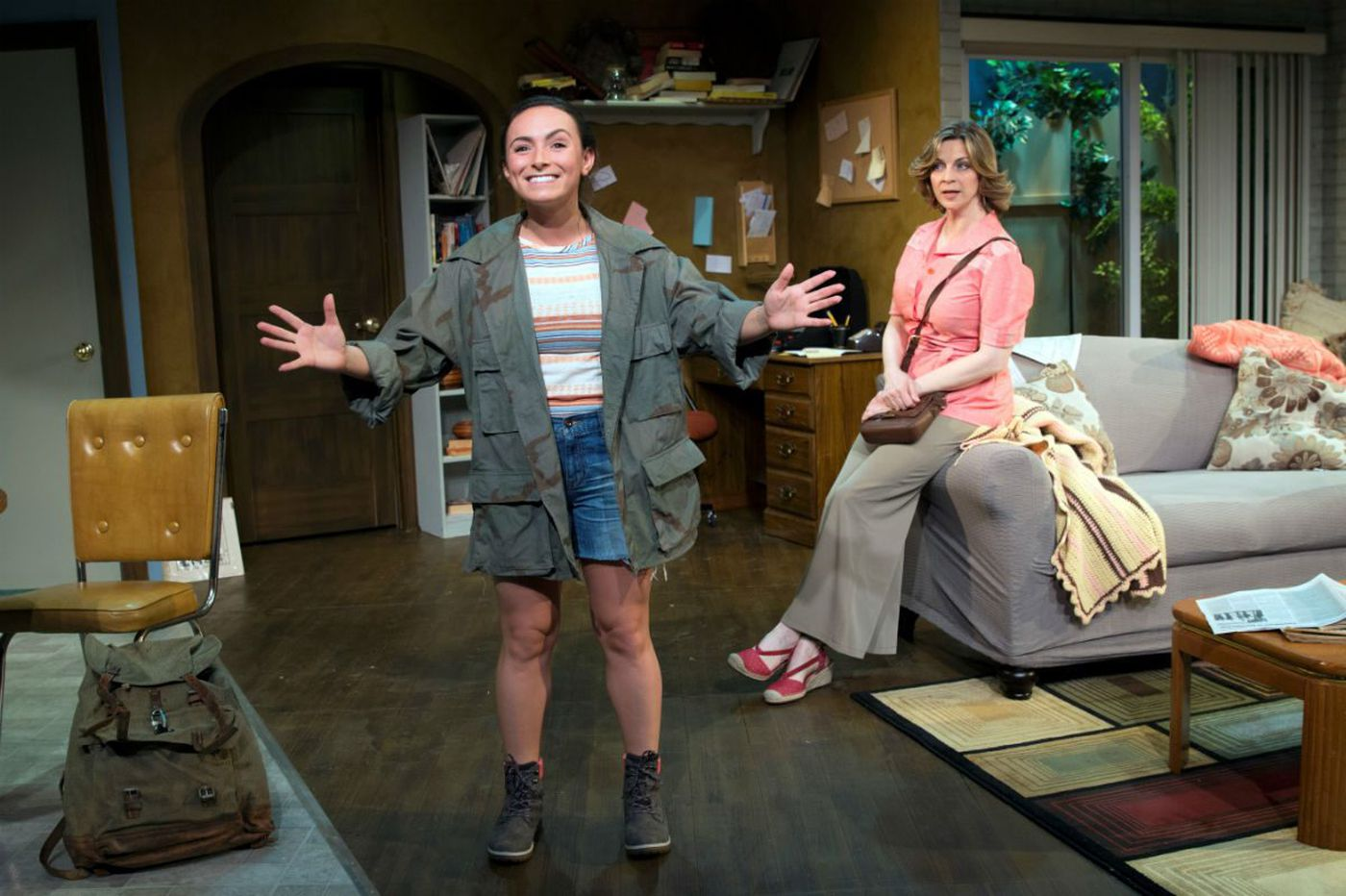 'I Ought to Be in Pictures' at Act II Playhouse: Three actors make a Neil Simon rarity poignant, lovable