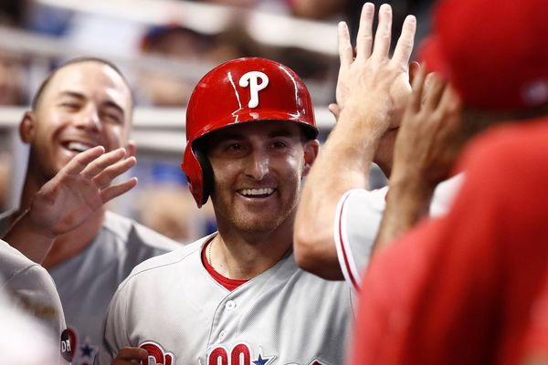 Brad Miller has brought the Phillies more than a bamboo plant