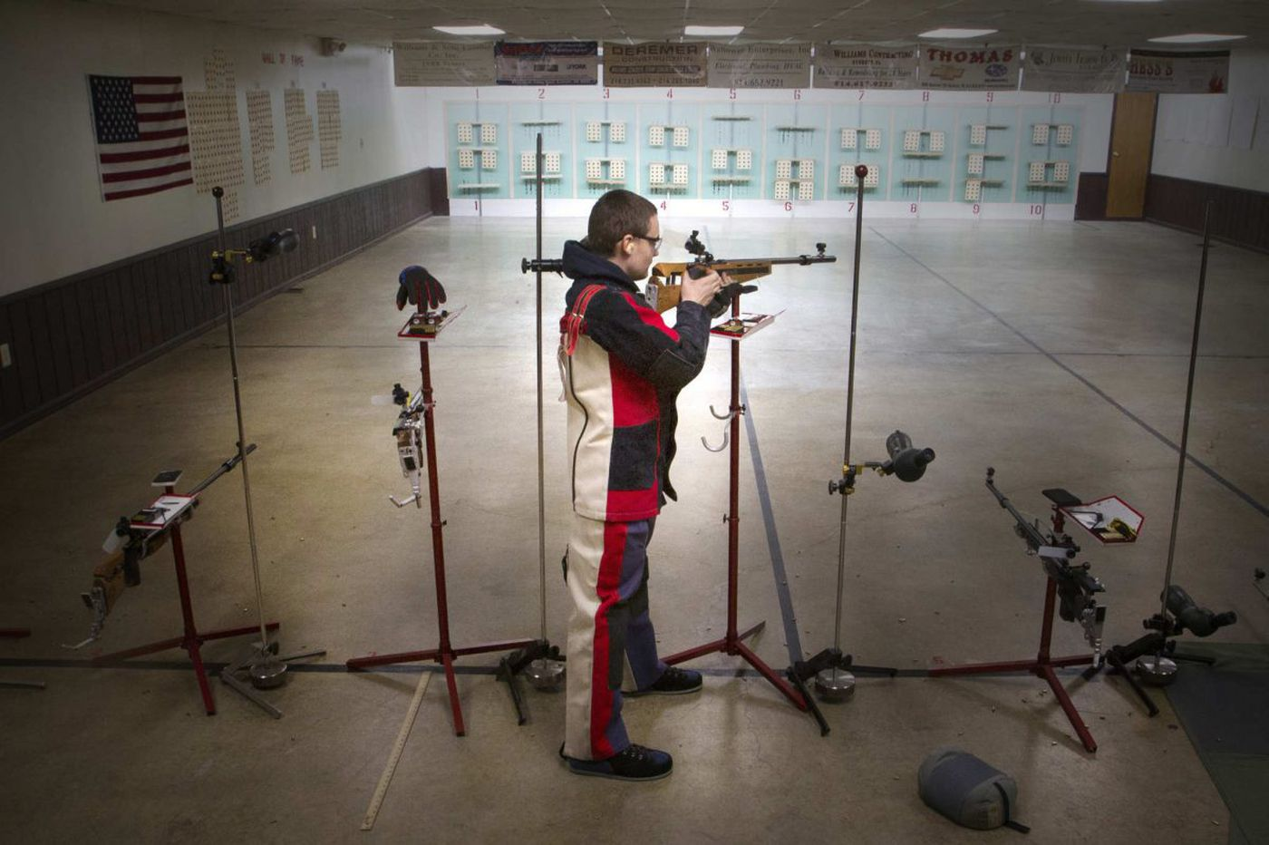 High school rifle teams take aim at scholarships, Olympics