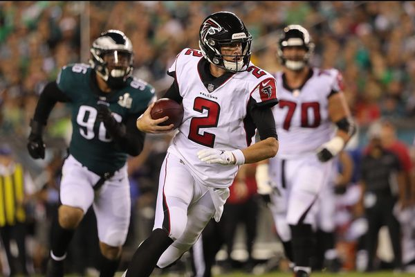 Atlanta Falcons quarterback Matt Ryan continues to perform at an elite level