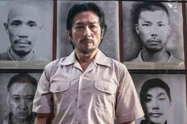 """Hiroyuki Sanada in """"The Railway Man."""" A victim from World War II's """"Death Railway"""" sets out to find those responsible for his torture. A true story."""