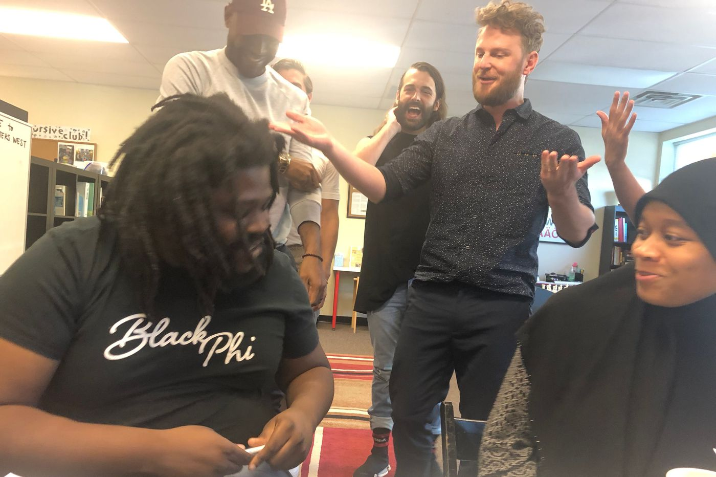 'Queer Eye' stopped by Mighty Writers before heading out of Philadelphia