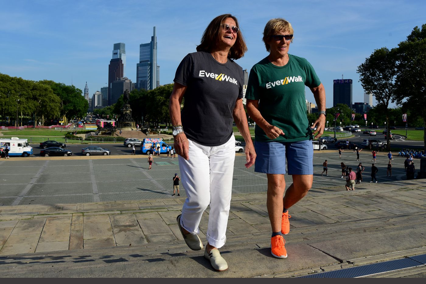 Legendary distance swimmer Diana Nyad takes to dry land to create a nation of walkers