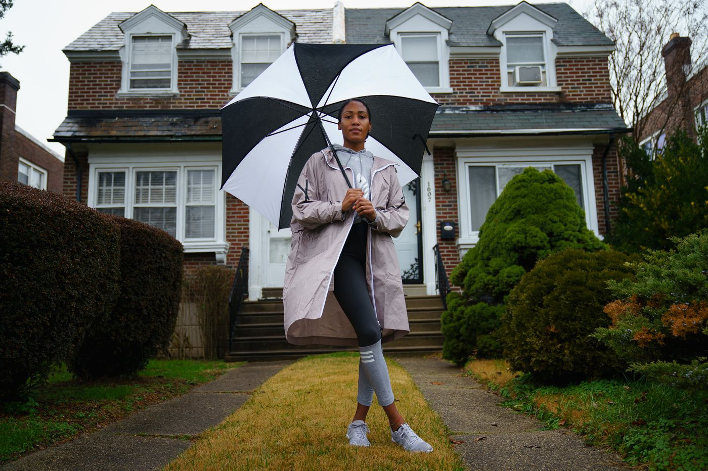 U.S. Olympic track star Ajee Wilson is using the pandemic to get a head start on Philly homeownership