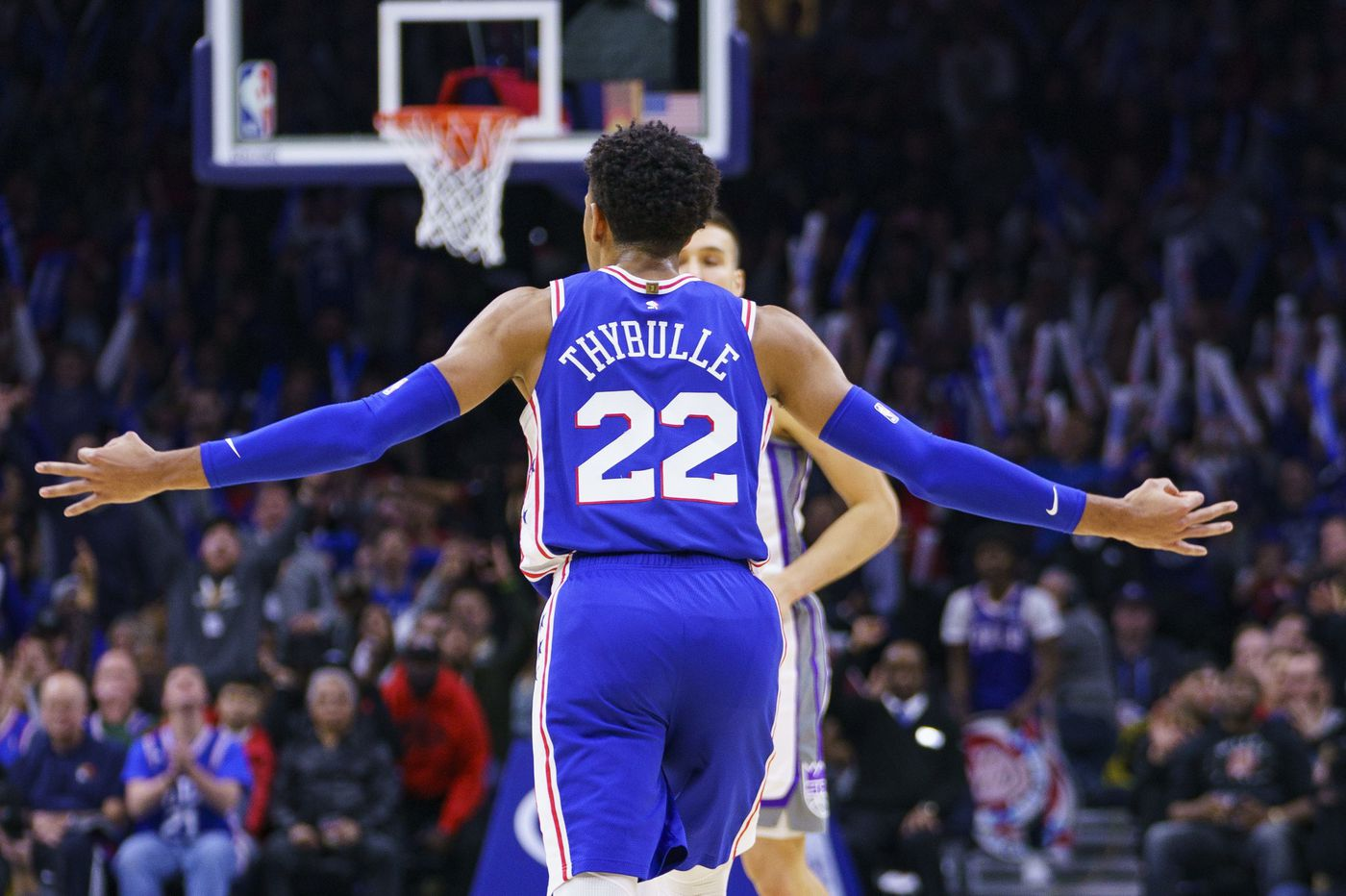 Sixers' Matisse Thybulle is playing D and hitting threes at a pace among NBA rookies' best | David Murphy