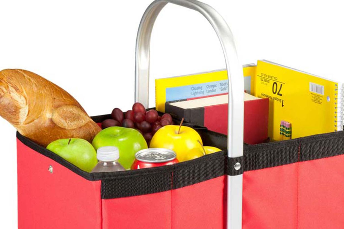 Collapsible baskets for shopping