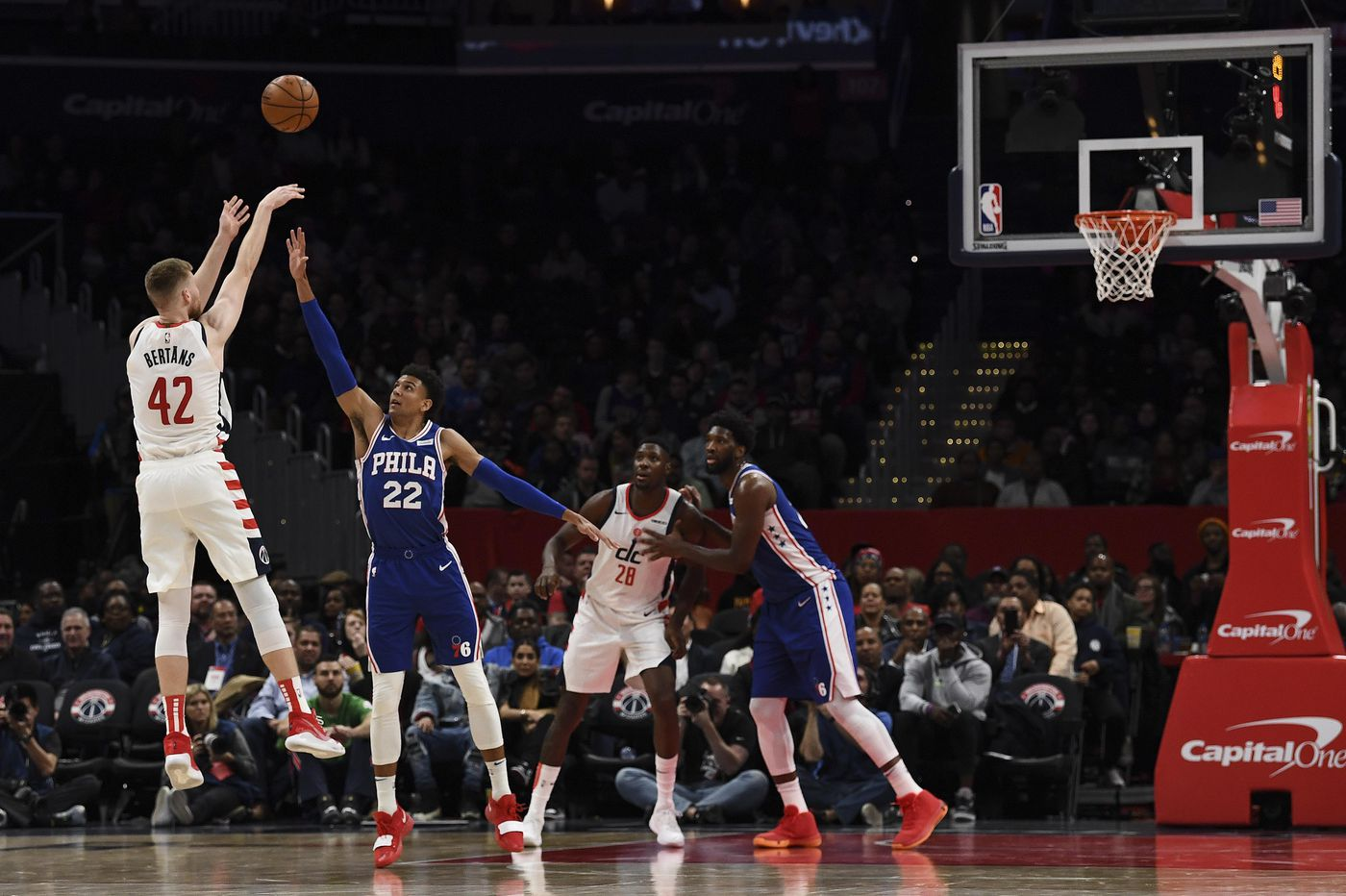 Sixers podcast: Making sense of a debacle in D.C.