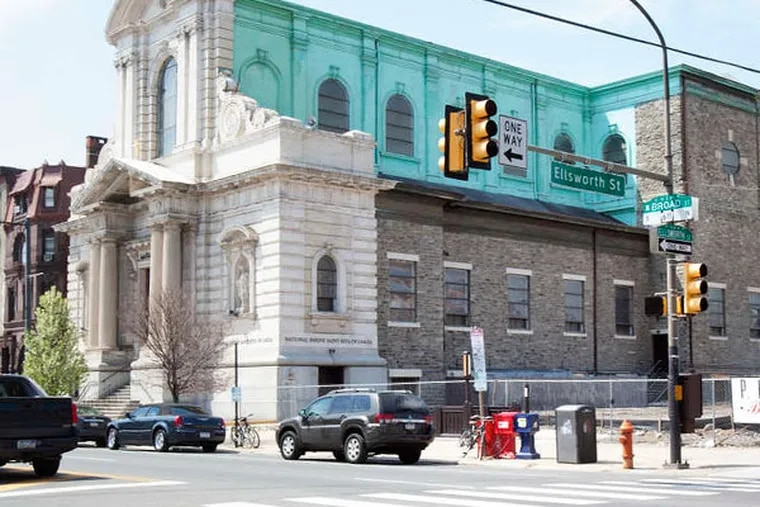 St. Rita of Cascia at Broad and Ellsworth Streets in South Philadelphia, where priests once performed about 1,000 baptisms a year, is down to about 600 families but is still a popular destination for pilgrims to its shrine.