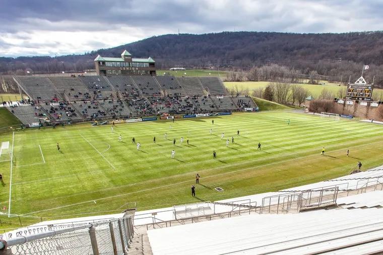 Bethlehem Steel played at Lehigh University's 16,000-seat Goodman Stadium from 2016 through 2018.