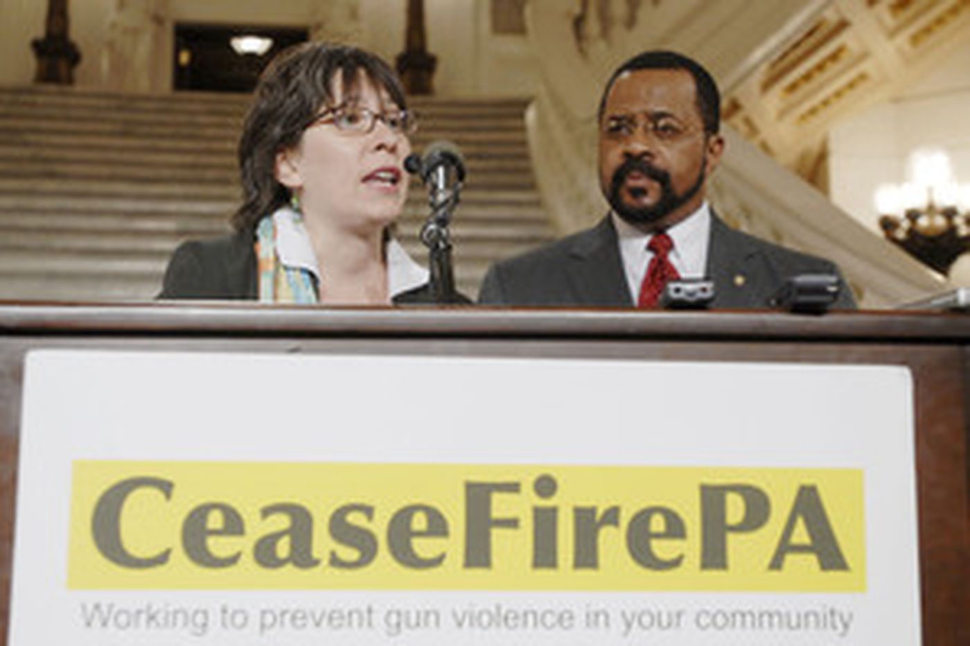 Gun-control lawmaker threatened