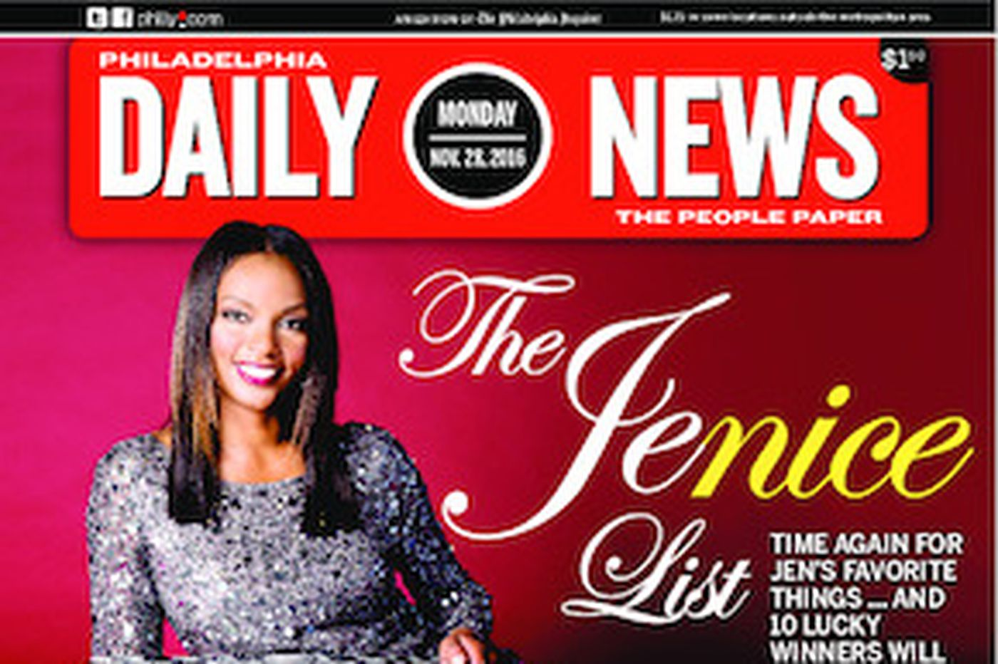 Dailynews Monthly Covers 11/28/16