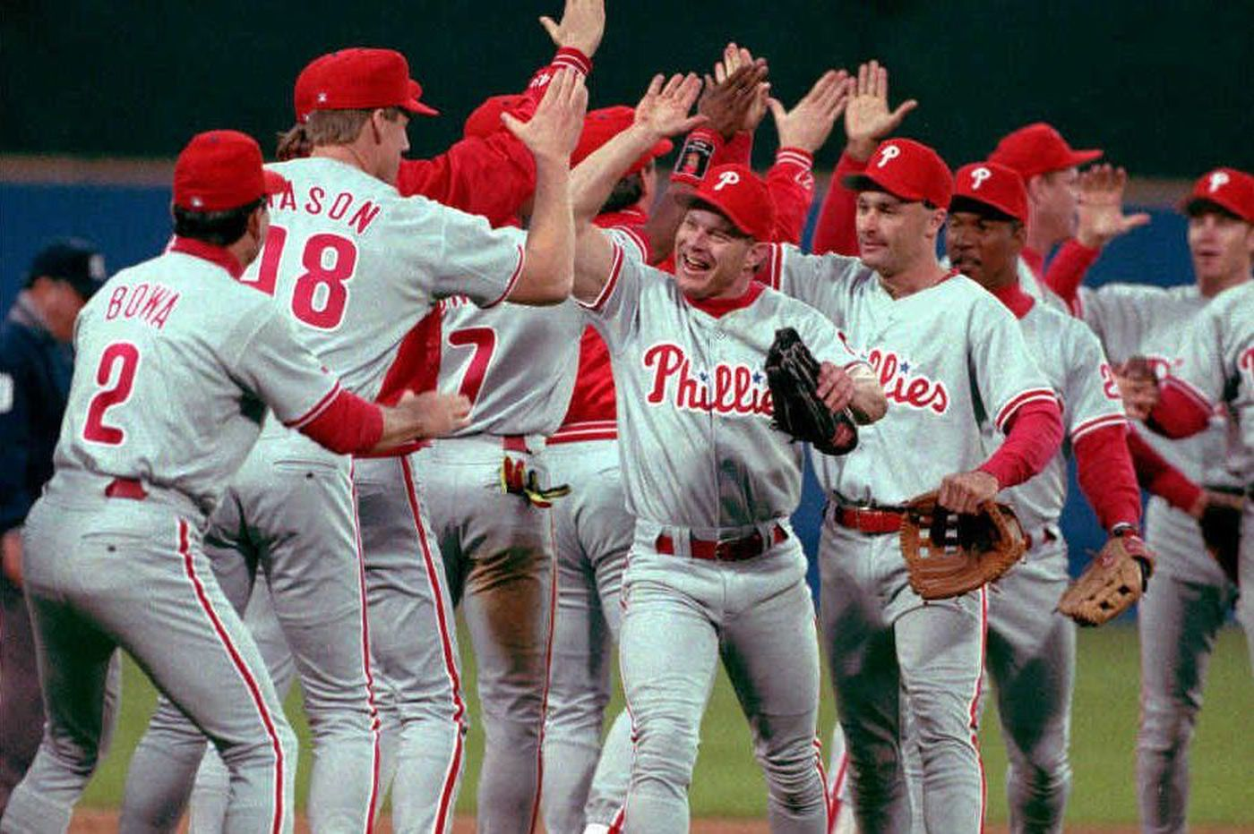 9007a608258 A look back at  93 Phillies offers sobering lesson in ruthlessness of time