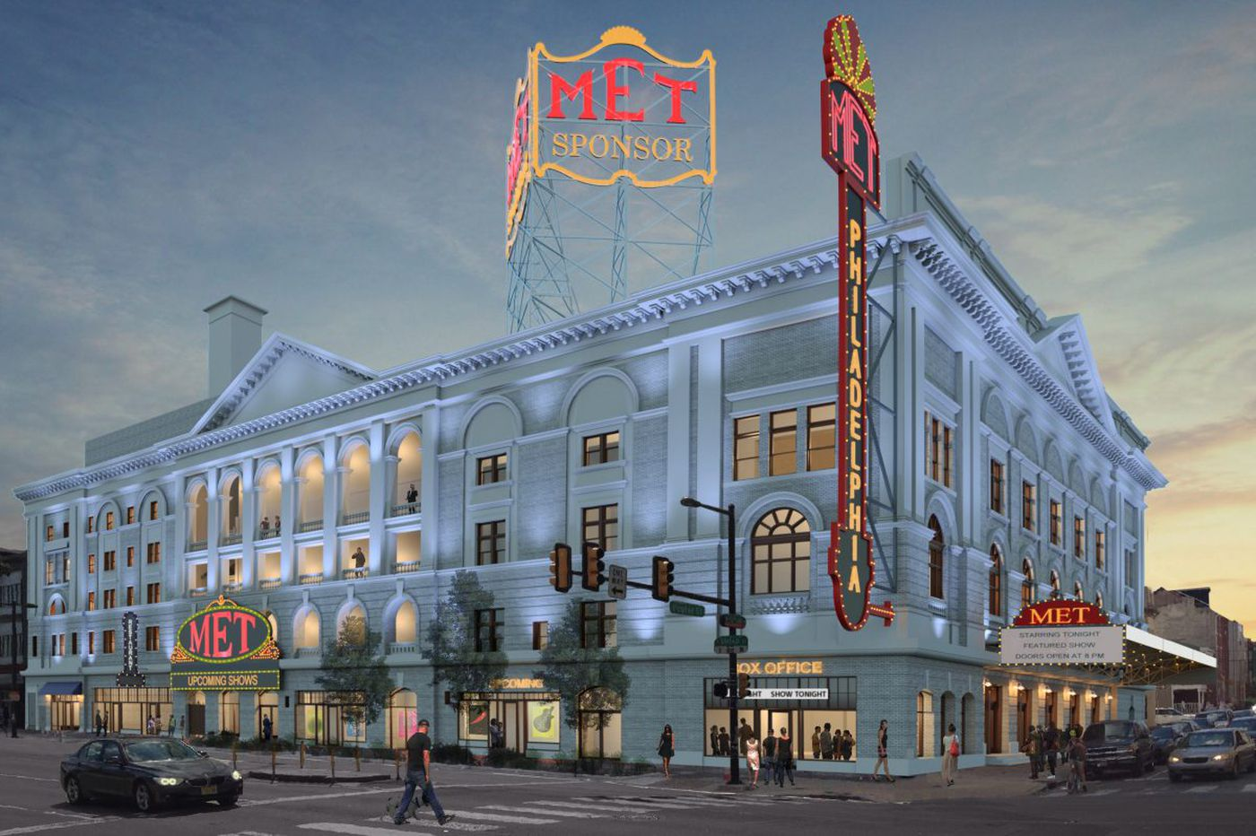 The Met: Former North Broad opera house will open as new concert venue in December