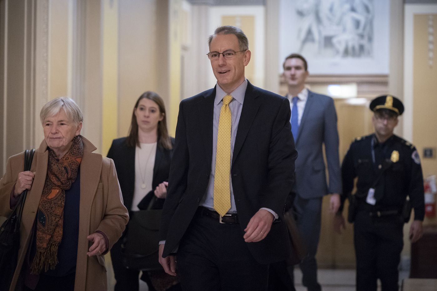 White House budget official with knowledge of delay in military aid to Ukraine testifies