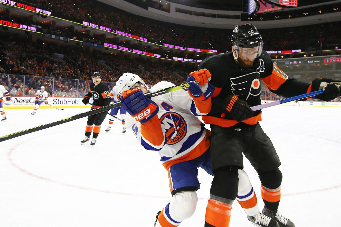 Islanders downplay regular-season success against the Flyers, and brace for a tough series