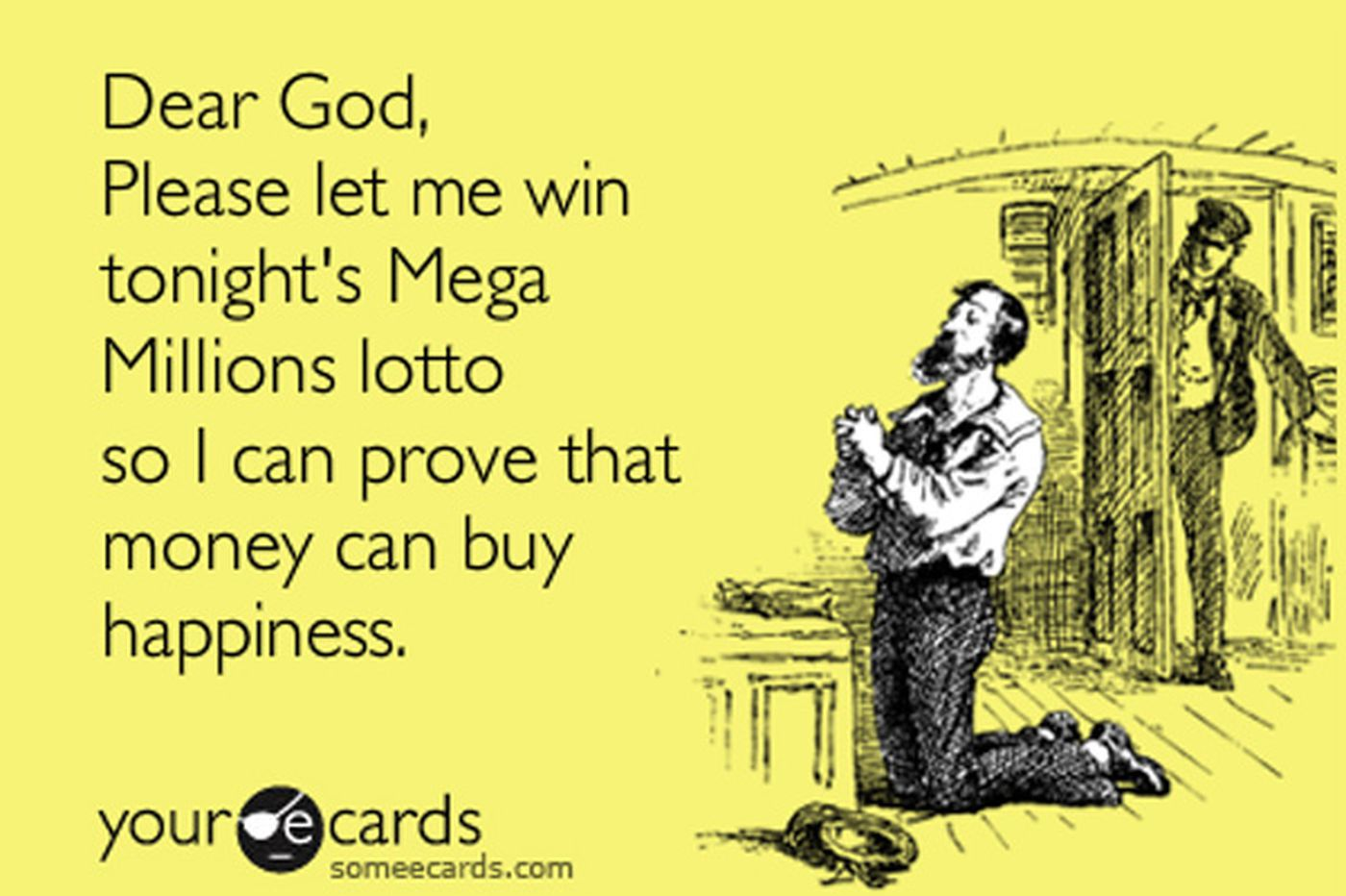 Mega Millions jackpot: Lord, hear our prayers