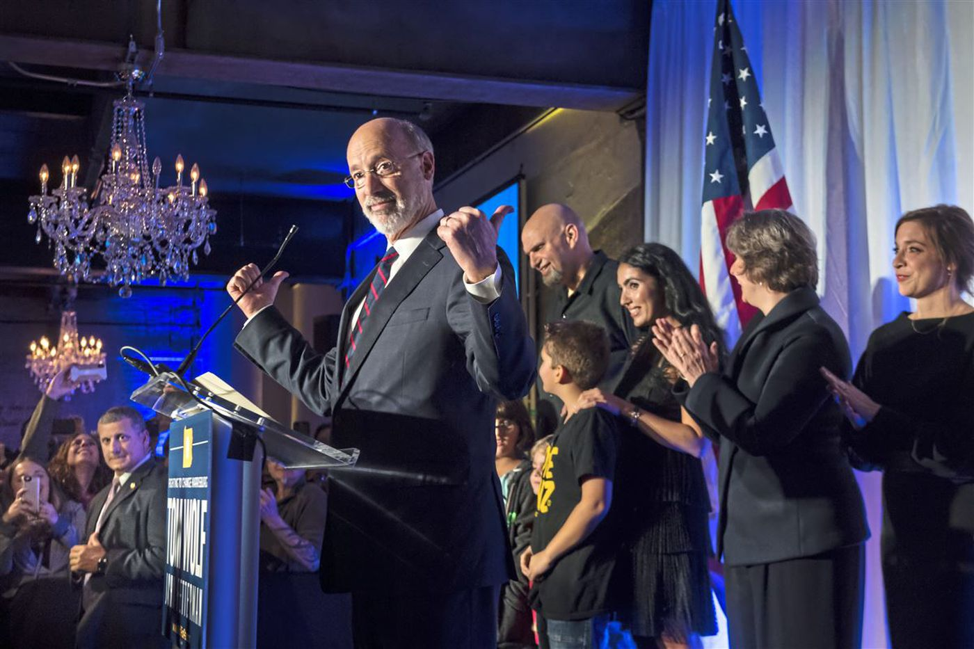 Tom Wolf wins Pa. governor's race