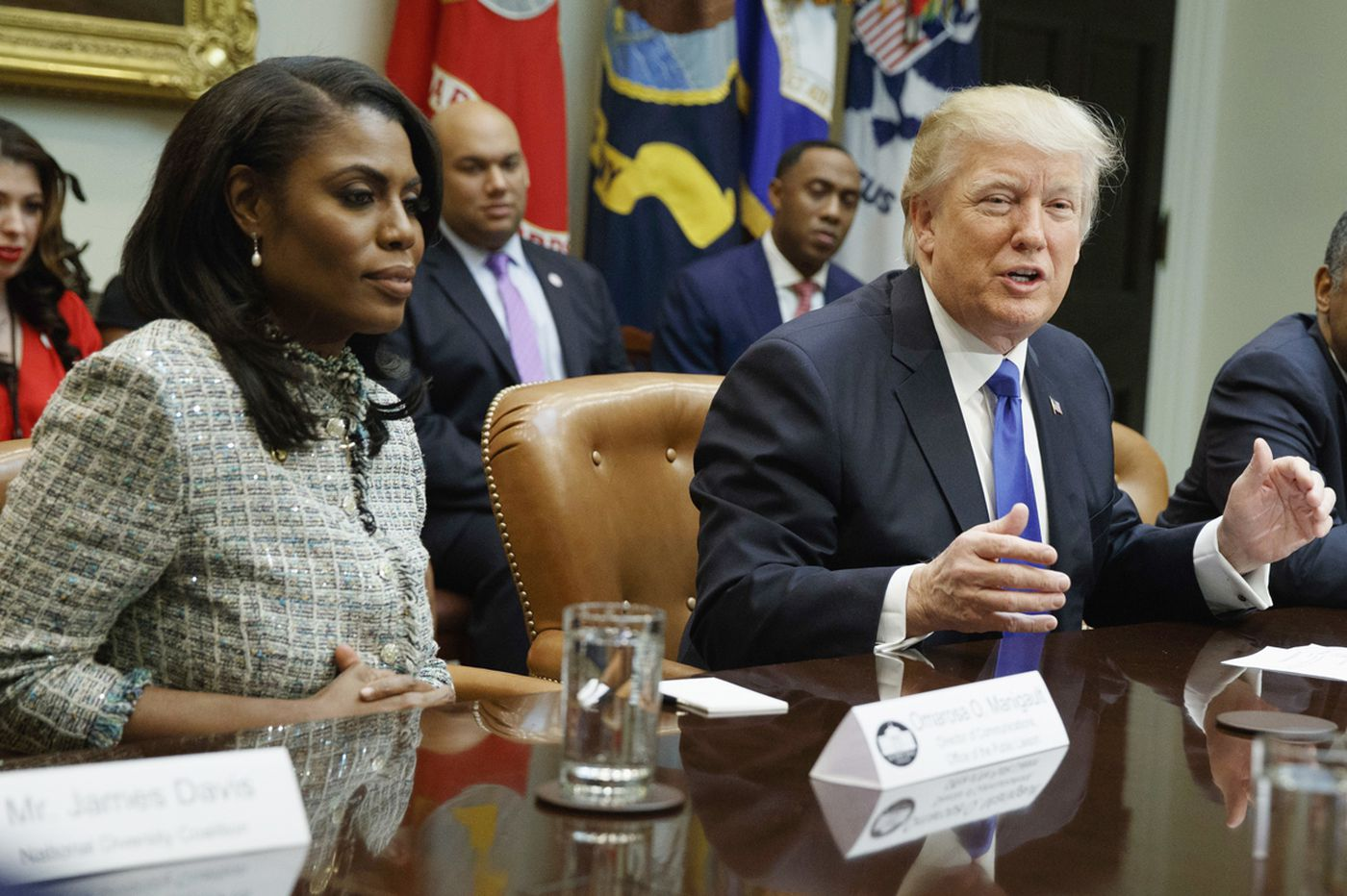 Omarosa says she has more tapes as Trump lashes out: 'Doesn't know how to control himself'